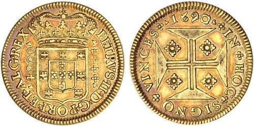 4000 Reis Royaume de Portugal (1139-1910) Or