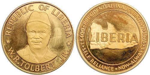 400 Dollar Liberia Gold