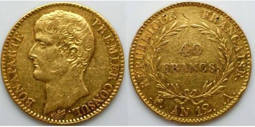 40 Франк Франція Золото