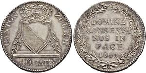 40 Batz Suiza Plata