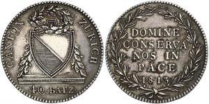 40 Batz Switzerland Silver