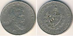 40 Centavo Kuba Kupfer/Nickel
