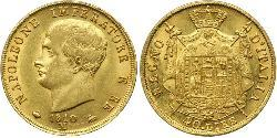40 Lira 義大利王國 (拿破崙時代) (1805 - 1814) 金 拿破仑一世(1769 - 1821)