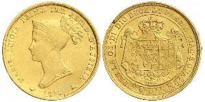 40 Lira Duchy of Parma (1545 - 1859) / Italy Gold Marie Louise, Duchess of Parma