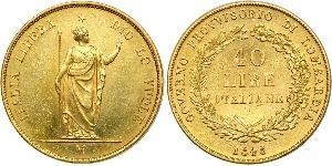 40 Lira Italian city-states Gold