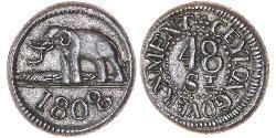 48 Stiver Sri Lanka Silber