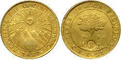 4 Ескудо Коста-Ріка / Центральноамериканська федерація (1823 - 1838) Золото