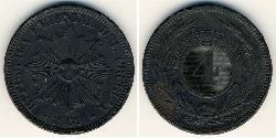 4 Centesimo Uruguay Bronze