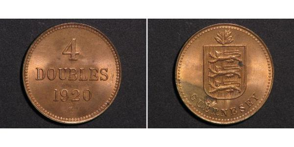 4 Double Guernsey Copper