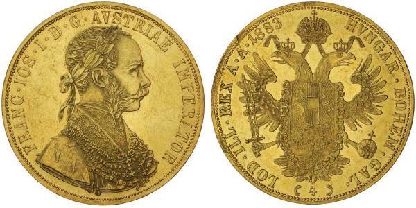 4 Ducat Austria-Hungary (1867-1918) Gold Franz Joseph I (1830 - 1916)