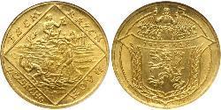 4 Ducat Czechoslovakia (1918-1992) Gold