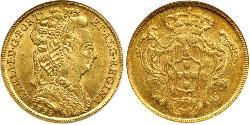 4 Escudo Kingdom of Portugal (1139-1910) Gold Maria I of Portugal (1734-1816)