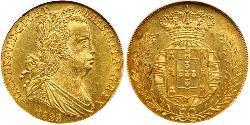4 Escudo Kingdom of Portugal (1139-1910) Gold John VI of Portugal (1767-1826)