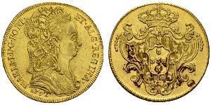 4 Escudo Kingdom of Portugal (1139-1910) Gold Maria I of Portugal (1734-1816)