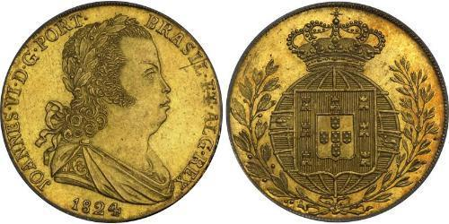 4 Escudo Kingdom of Portugal (1139-1910) Gold John VI of Portugal (1767-1826)