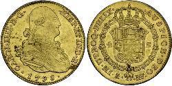 4 Escudo Spanisches Kolonialreich (1700 - 1808) Gold Karl IV (1748-1819)