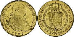 4 Escudo Spanish Empire (1700 - 1808) Gold Charles IV of Spain (1748-1819)