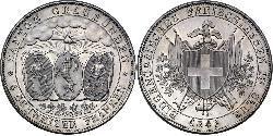 4 Franc Suiza Plata
