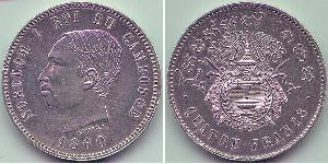 4 Franc Cambodge