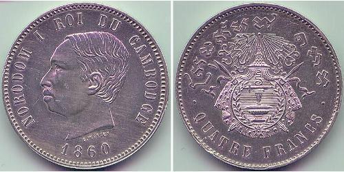 4 Franc Cambogia