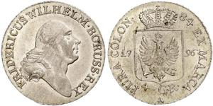 4 Groschen Пруссия (королевство) (1701-1918) Серебро Фридрих Вильгельм II