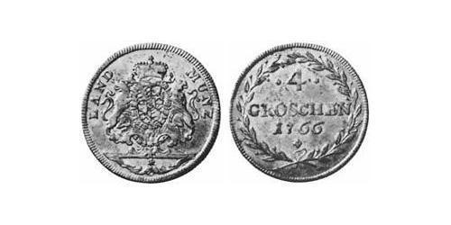 4 Groschen Electorate of Bavaria (1623 - 1806) Silver Maximilian III Joseph, Elector of Bavaria (1727 – 1777)