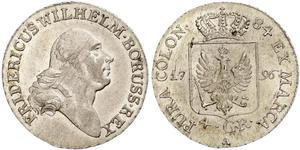 4 Groschen Kingdom of Prussia (1701-1918) Silver Frederick William II of Prussia