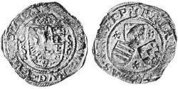 4 Groschen Principality of Anhalt (1212 - 1806) Silver