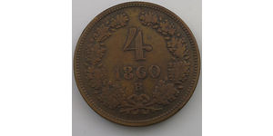 4 Kreuzer Austrian Empire (1804-1867) Copper
