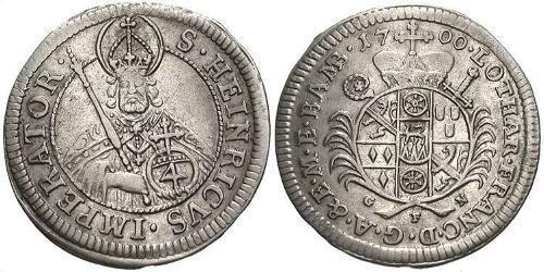 4 Kreuzer Deutschland Silber