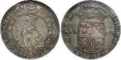 4 Mark Sweden Silver Charles IX of Sweden  (1550-1611)