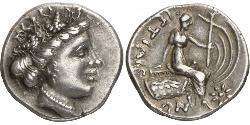 4 Obol / 1 Tetrobol Ancient Greece (1100BC-330) Silver