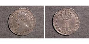 4 Penny Royaume-Uni Argent Anne (reine de Grande-Bretagne)(1665-1714)
