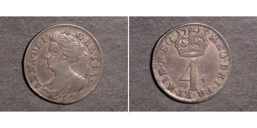 4 Penny Reino Unido Plata Ana de Gran Bretaña(1665-1714)