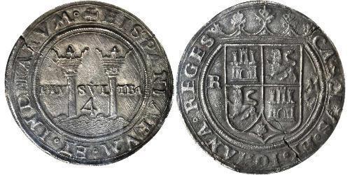 4 Real Virreinato de Nueva España (1519 - 1821) Plata Carlos V, Emperador del Sacro Imperio Romano (1500-1558)