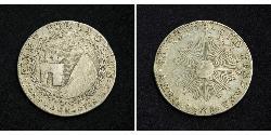 4 Real Peru Silber
