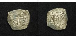 4 Real Vizekönigreich Neuspanien (1519 - 1821) Silber