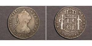 4 Real Vizekönigreich des Río de la Plata (1776 - 1814) / Bolivien Silber Karl III. von Spanien (1716 -1788)