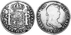 4 Real Viceroyalty of the Río de la Plata (1776 - 1814) / Bolivia Silver Ferdinand VII of Spain (1784-1833)