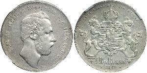 4 Riksdaler United Kingdoms of Sweden and Norway (1814-1905) Silver Charles XV of Sweden (1826 - 1872)