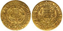4 Shilling Kingdom of England (927-1649,1660-1707) Gold James I (1566-1625)