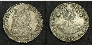 4 Sol Bolivie (1825 - ) Argent
