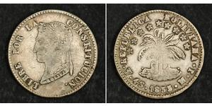 4 Sol Bolivia (1825 - ) Plata