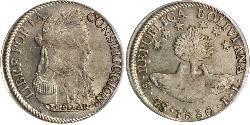 4 Sol Bolivien (1825 - ) Silber