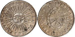 4 Sol United Provinces of the Río de la Plata (1810 -1831) Silver