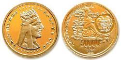 50000 Dram Armenien (1991 - ) Gold