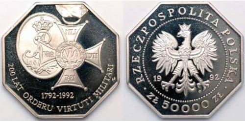 50000 Zloty Third Polish Republic (1991 - )