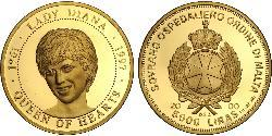 5000 Lira Malta 金