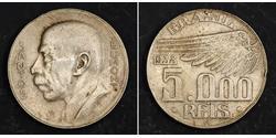 5000 Reis Brasilien Silber