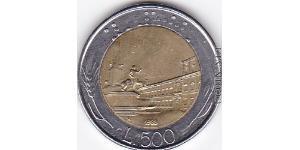 500 Ліра Італія Біметал